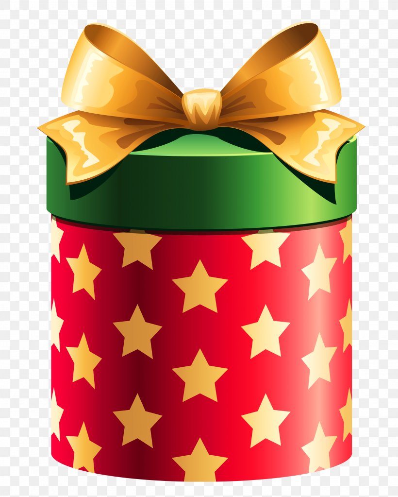 Christmas Gift Box Gift Wrapping Clip Art, PNG, 2604x3251px.