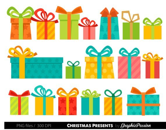 Christmas gifts clipart 4 » Clipart Portal.