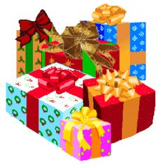 Christmas gifts clipart png » Clipart Station.
