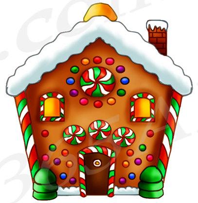 Gingerbread Clipart, Gingerbread Clip art, Graphics.