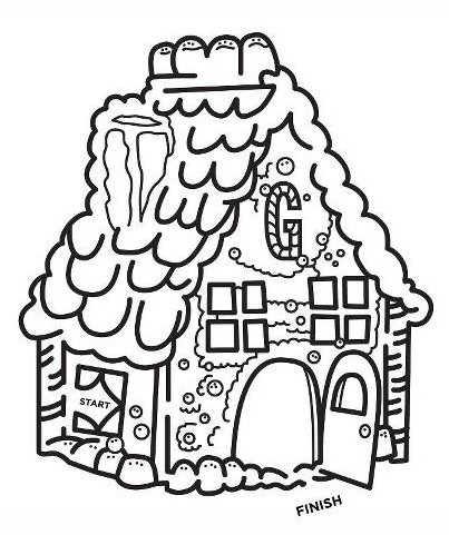 Christmas Themed Mazes, Coloring Pages & Word Search Fun.