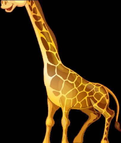 Giraffe Clipart Christmas.