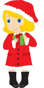 Free Girl Christmas Cliparts, Download Free Clip Art, Free.