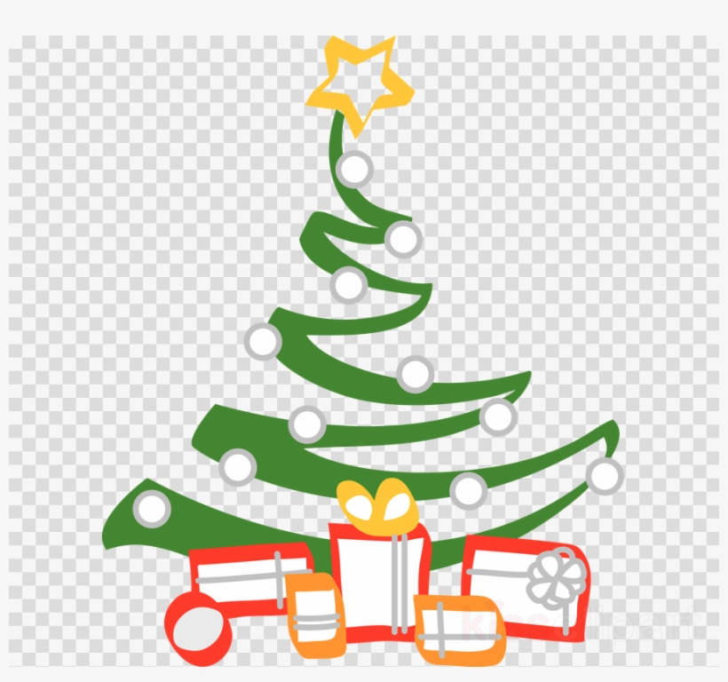 Black And White Christmas Tree Clipart Christian Clip.
