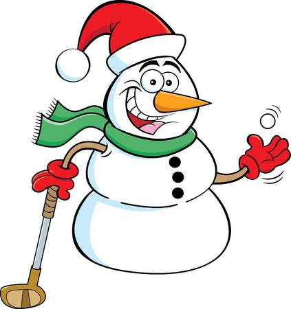 283 Christmas Golf Stock Illustrations, Cliparts And Royalty Free.