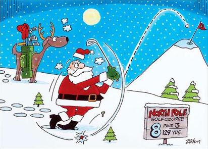 christmas golf clip art free.