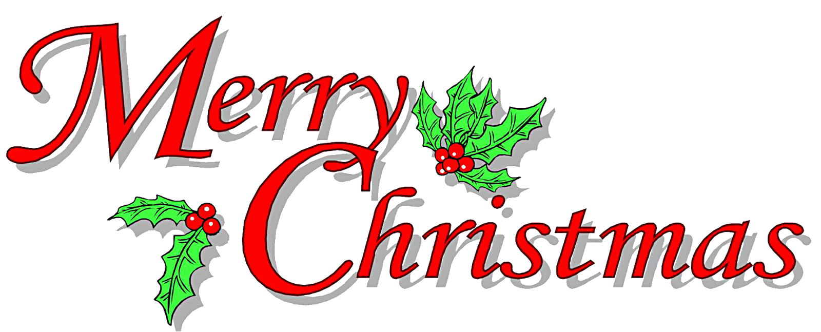 Free christmas greeting clipart.