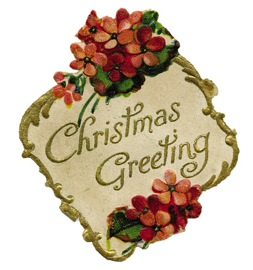 Christmas Greetings Clipart.
