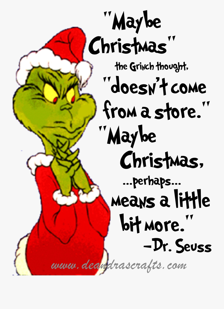 Grinch Clipart B Stole Christmas Quotes Transparent.