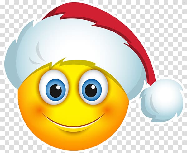 Smiley Santa Claus Emoji Emoticon Christmas Day, jiffy pop.