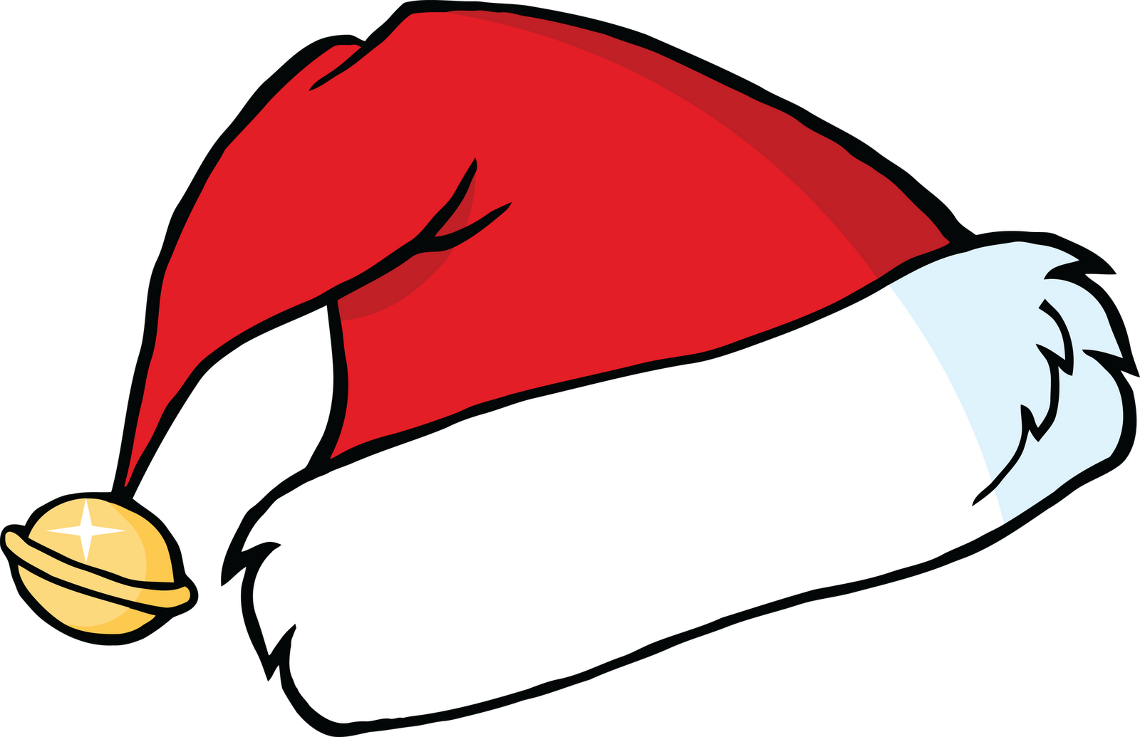 Christmas hat clipart free.