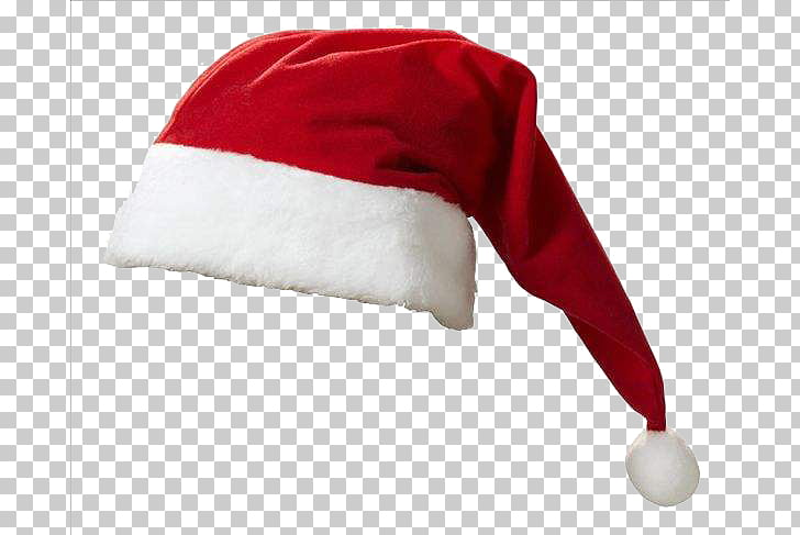 Santa suit Hat , Christmas hat PNG clipart.