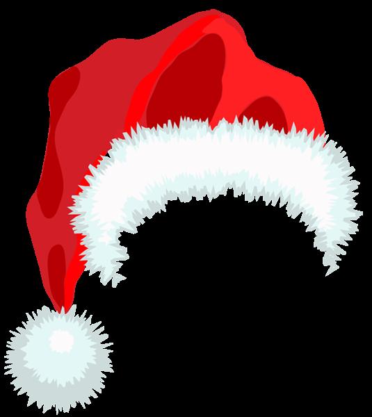Santa Hat PNG Clipart.