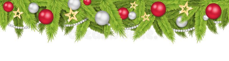 Christmas Header Stock Illustrations.