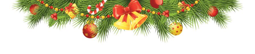 Christmas Header Clipart.