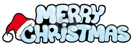 Christmas Heading Clipart.