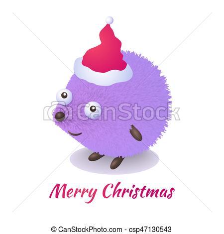 Christmas hedgehog.