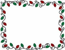 Image result for holiday lights clipart border free.