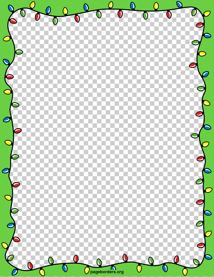 Christmas lights Holiday , Christmas Border Transparent PNG.