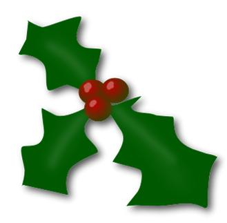 Christmas Holly And Ivy Clipart (80+).