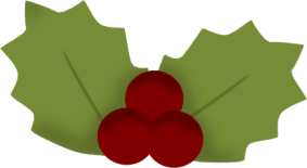 Holly and Ivy Clip Art.