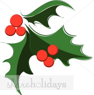 Holly Clipart, Christmas Holly, Christmas Holly Image.