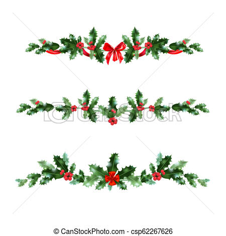 christmas holly banner clip art 20 free Cliparts ...