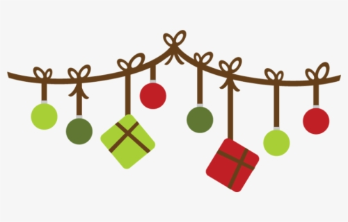 Free Christmas Banner Clip Art with No Background.