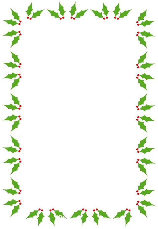 Free Christmas Borders and Frames.