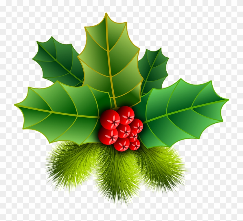 Download Christmas Holly Clipart For Free 2019.