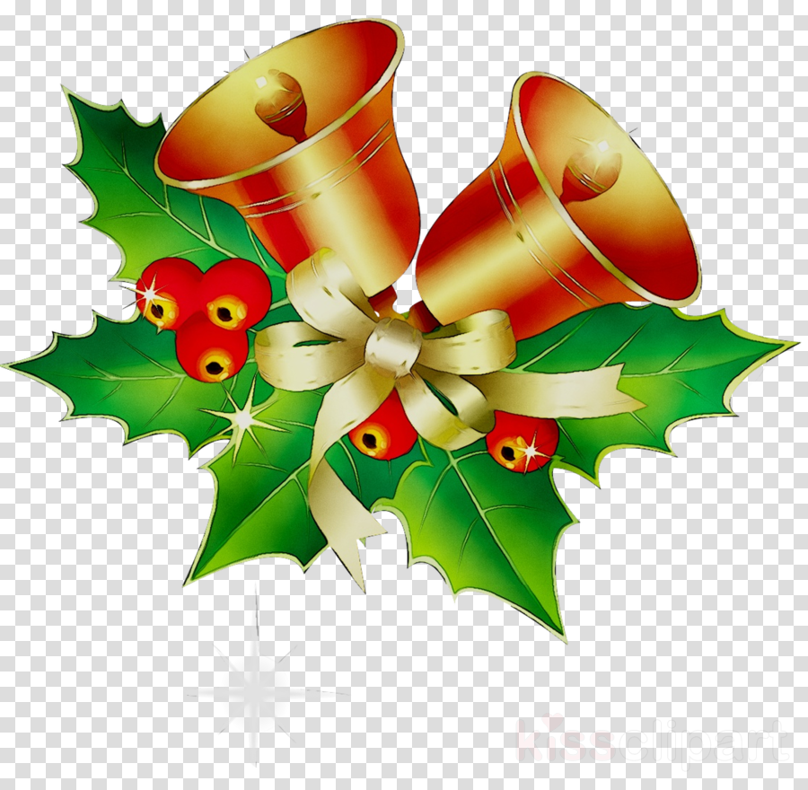 Christmas Holly clipart.