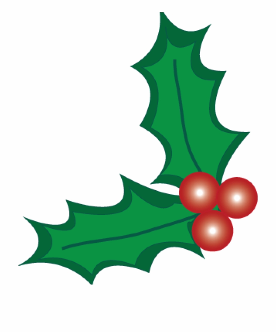 Holly And Berries Clip Art Christmas Holly Berry Clipart.