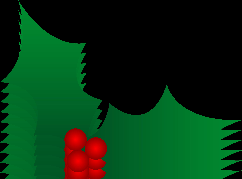Christmas Holly Clipart.