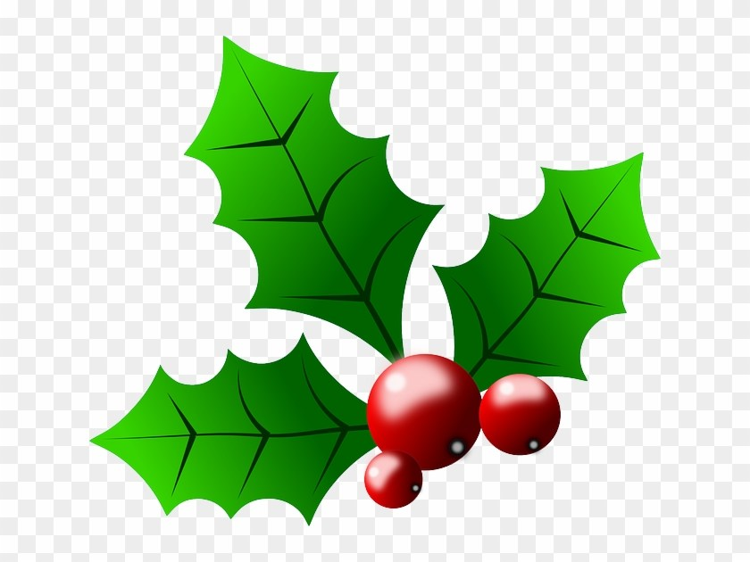 Free clipart christmas holly leaves 2 » Clipart Portal.
