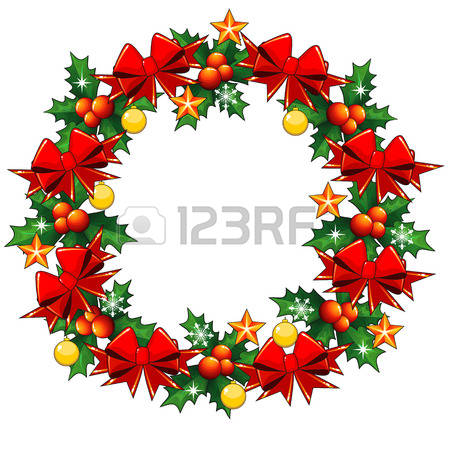 10,161 Holly Wreath Cliparts, Stock Vector And Royalty Free Holly.
