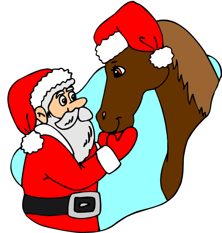 Free Christmas Horse Clipart, Download Free Clip Art, Free Clip Art.