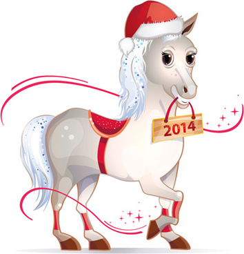 Vector christmas horse free vector download (7,805 Free vector) for.