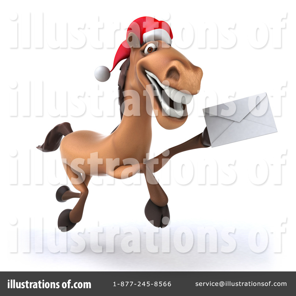 Christmas Horse Clipart #1277815.