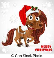 Horse christmas clipart 2 » Clipart Portal.