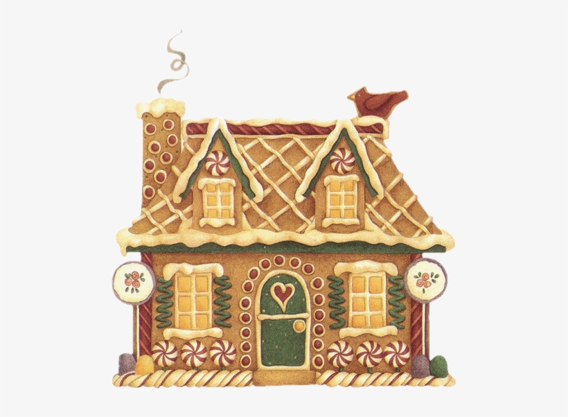 Vector Freeuse Library Christmas Houses Clipart.