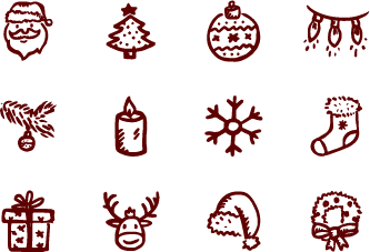 Merry Icons Free.