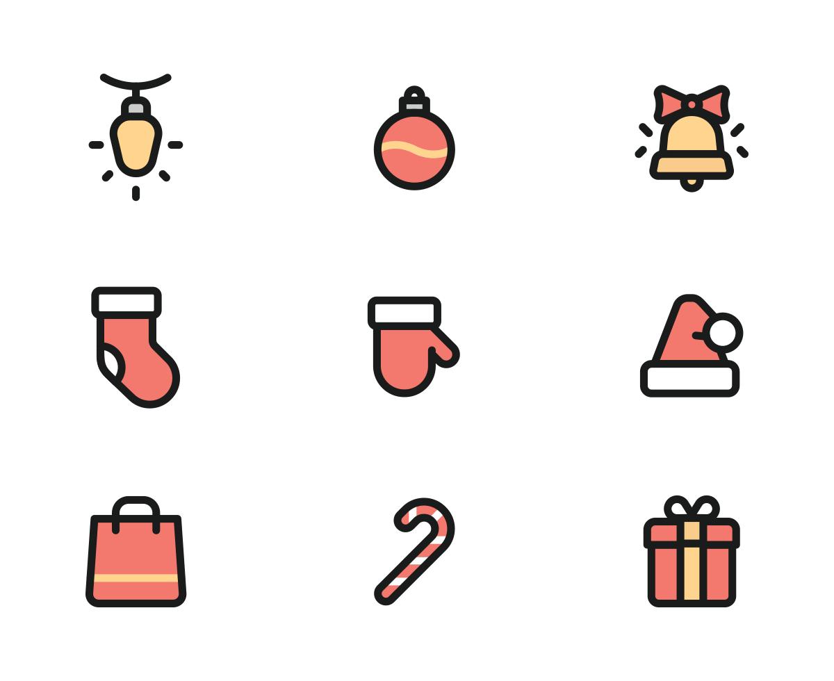 Free* Christmas Icons.