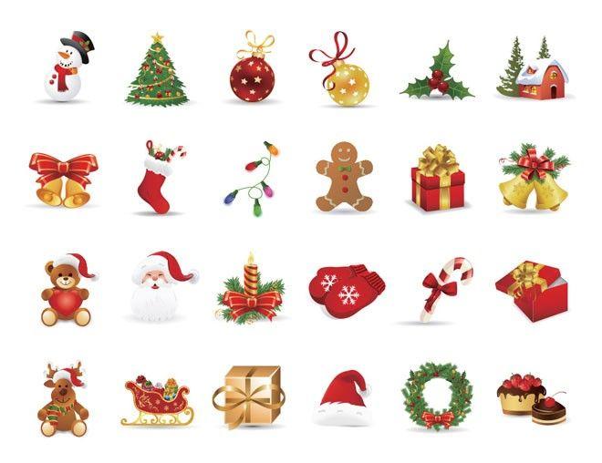 Free Christmas Icons.