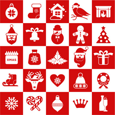 Christmas icon vector free vector download (33,215 Free vector) for.