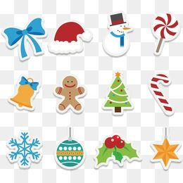 Cute Cartoon Christmas Icon, Vector, Christmas, Icon PNG and Vector.