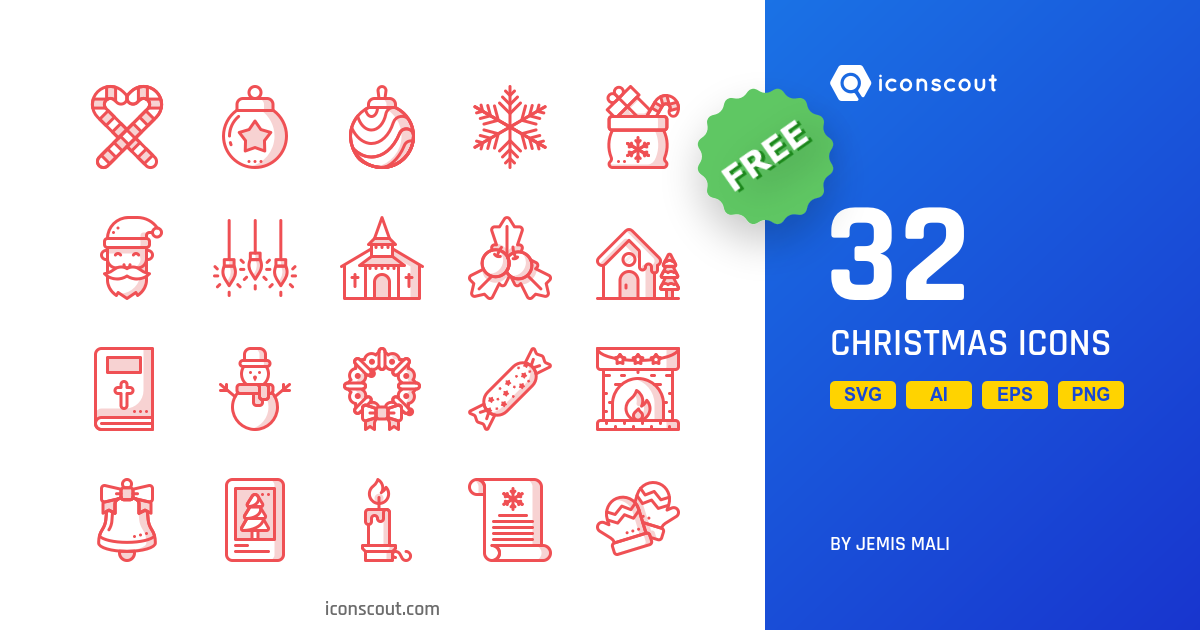 Free Christmas Icon Pack.