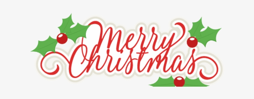 Merry Christmas Clipart Png Format Transparent PNG.