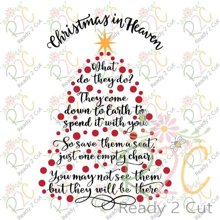 Christmas in Heaven Tree 3 Design Set.