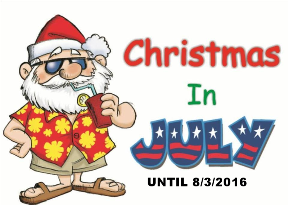 CHRISTMAS IN JULY — John H. Mark Scholarship.