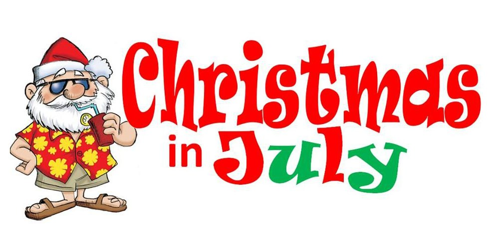 Clipart Christmas In July.